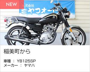 稲美町から 車種 : YB125SP メーカー : ヤマハ